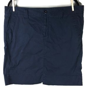 Gap Navy Khaki Skirt Size 16